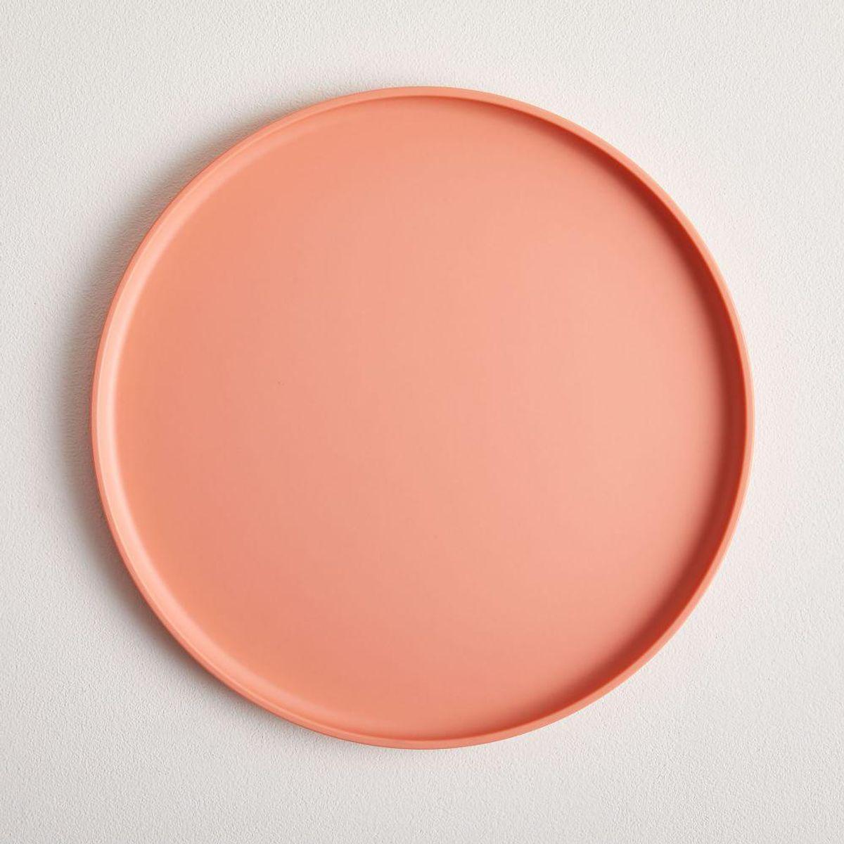 west elm modern melamine dinner plate