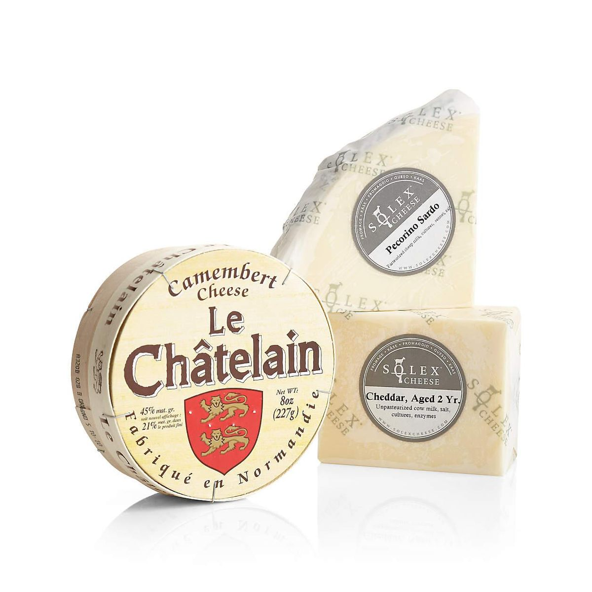 crate and barrel classic cheese trio