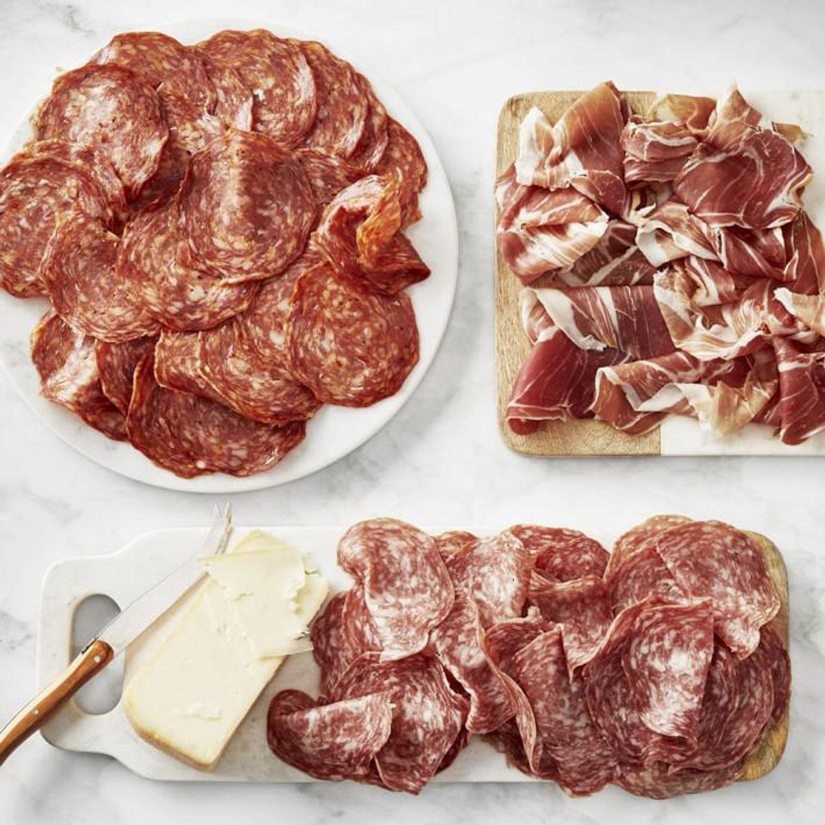 williams sonoma ultimate cured meat sampler