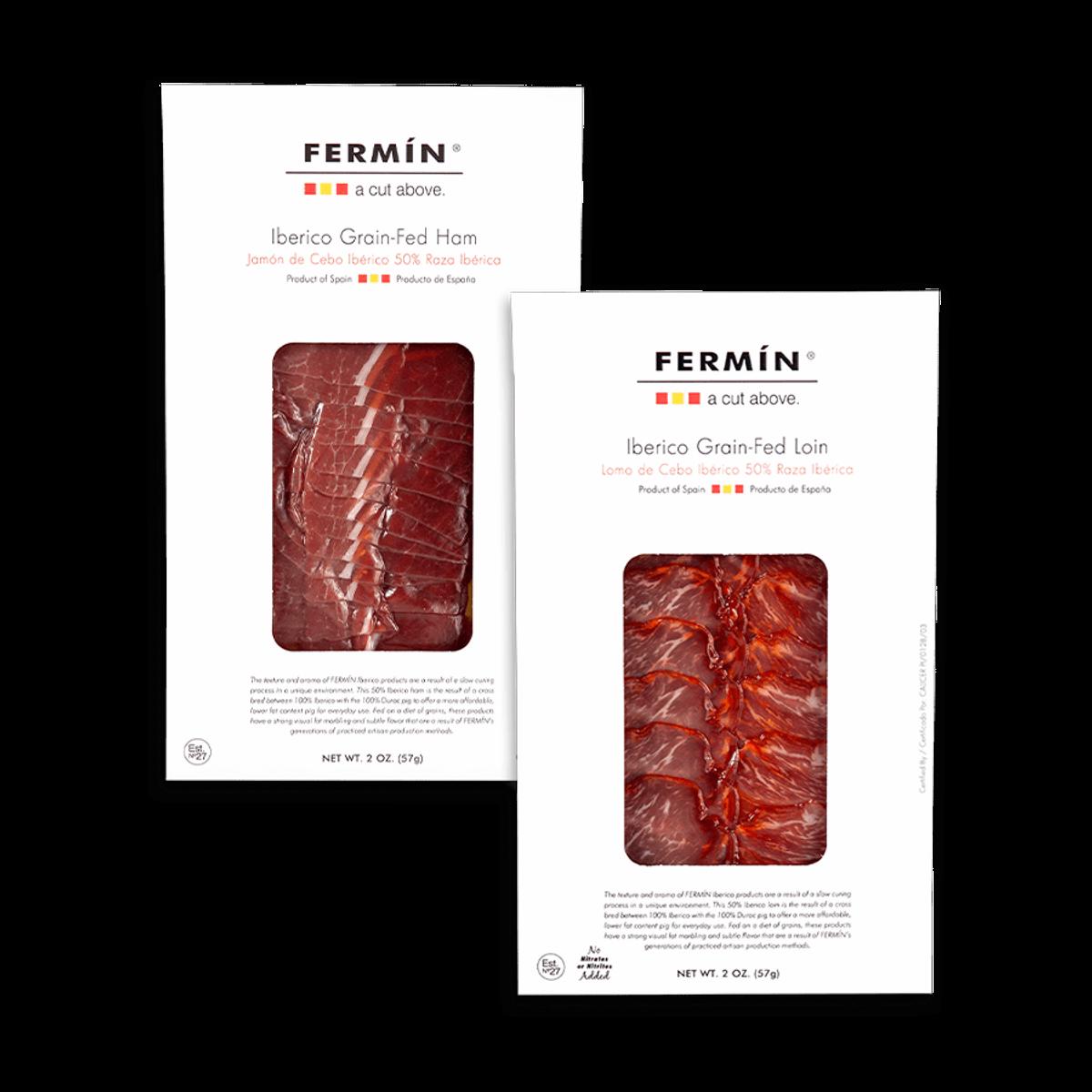 fermin 50 percent iberico sliced cured meats