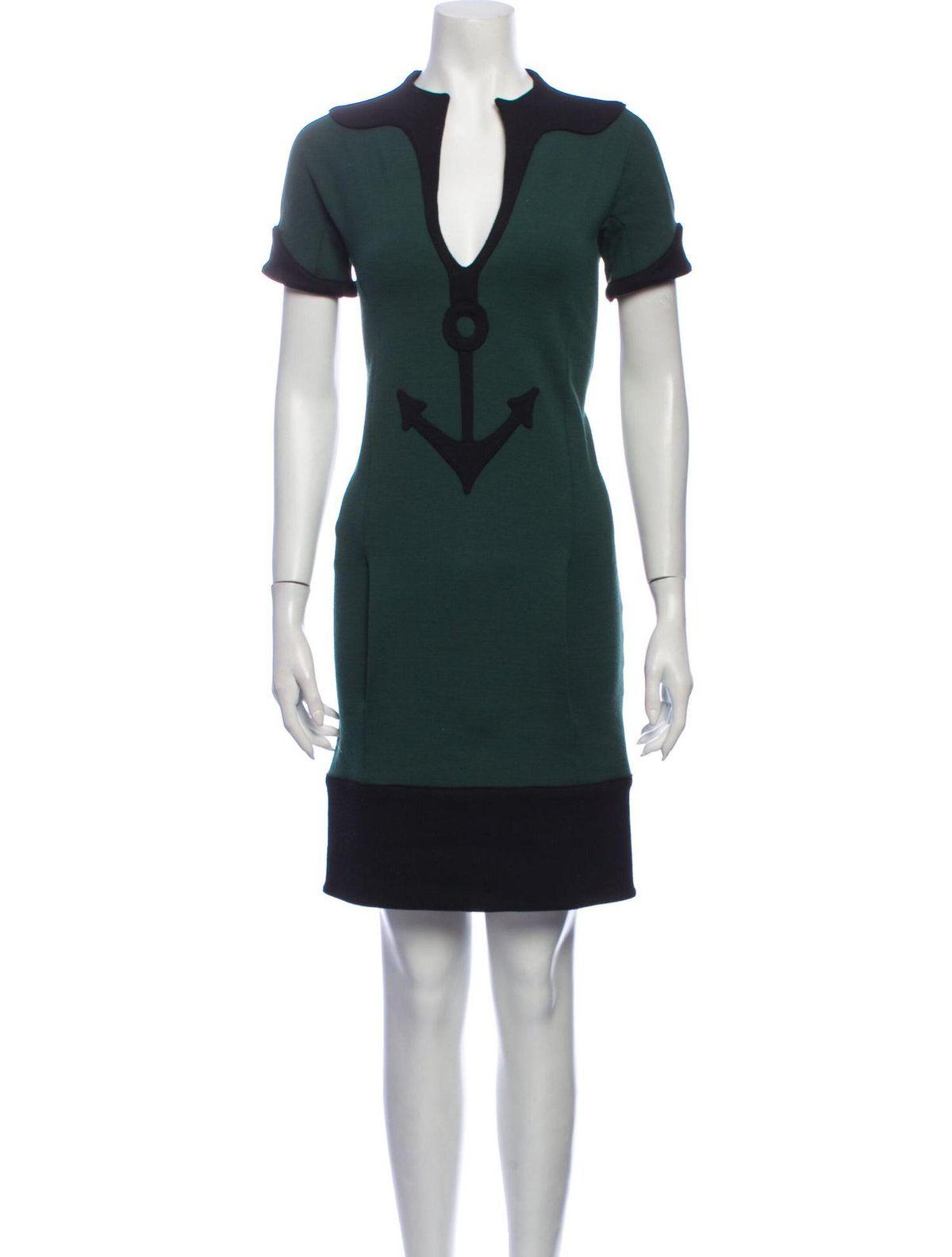 balenciaga patterned mini dress