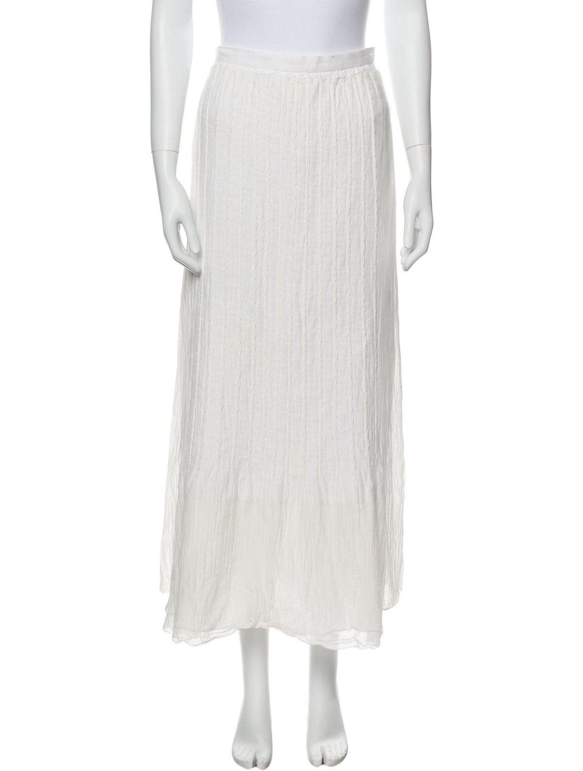 issey miyake midi length skirt