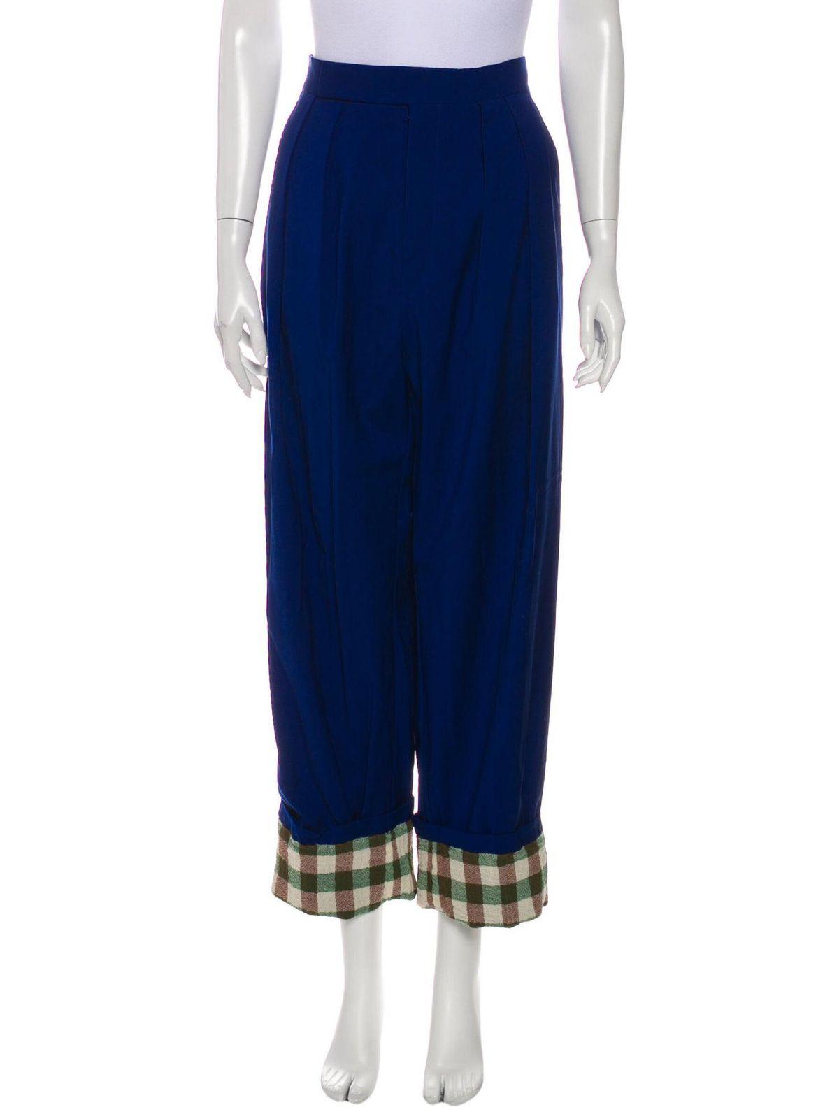 celine virgin wool wide leg pants