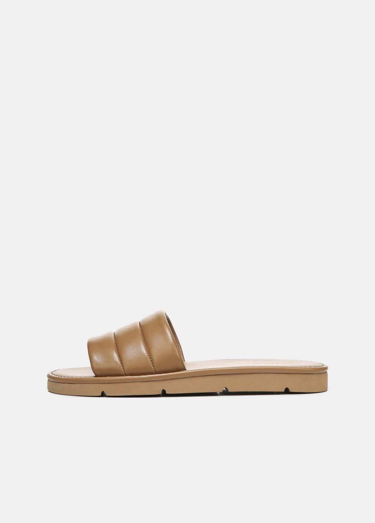 Olina Leather Slip-On Sandal