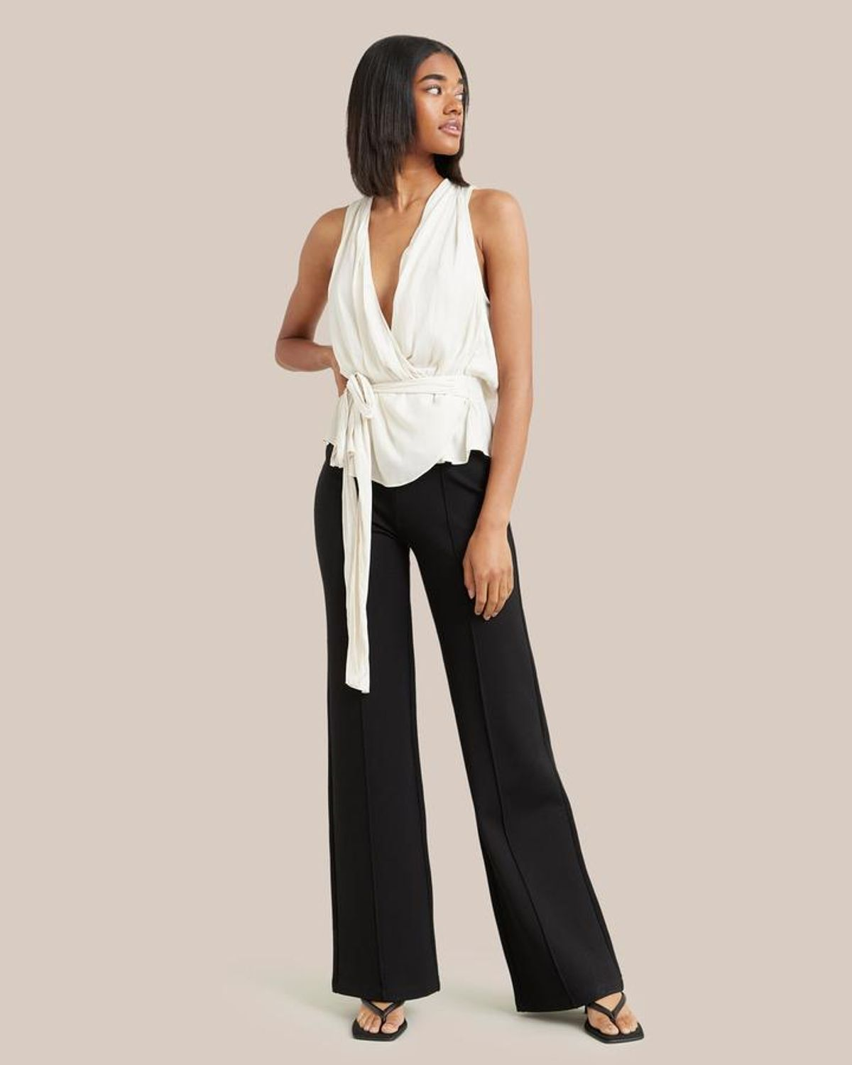 Aster Stretch Wide Leg Pant