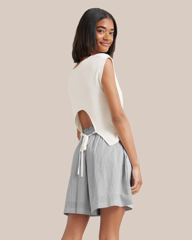 Maia Tie-back Knit Tank