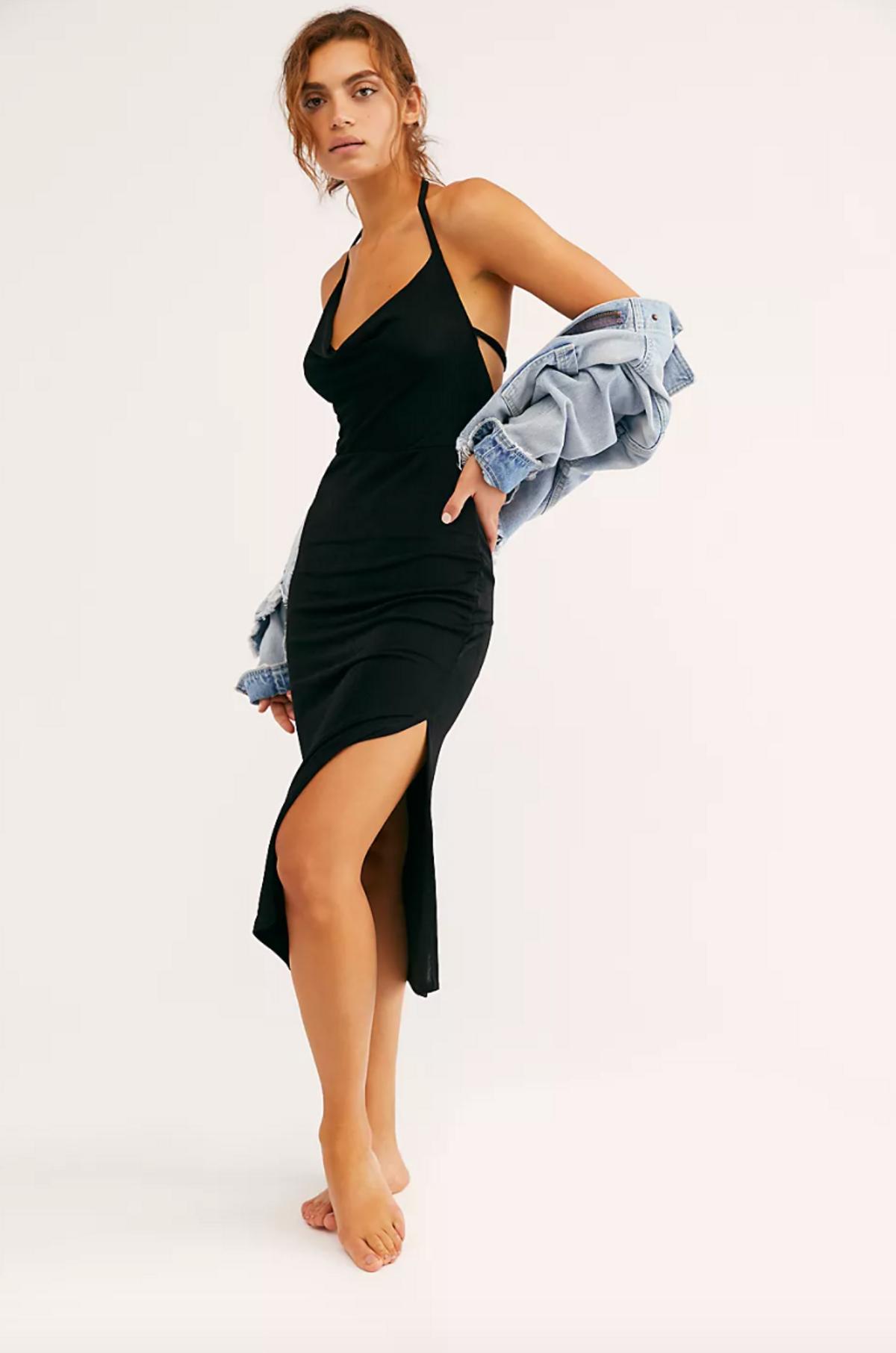 Angelica Midi Slip Dress