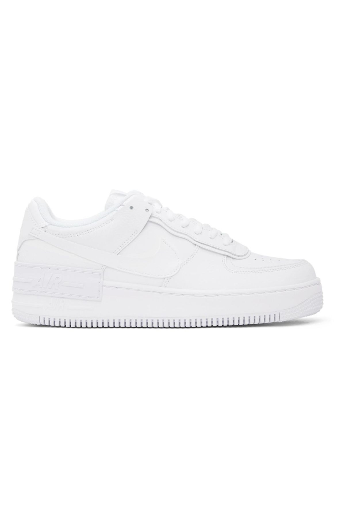White Air Force 1 Shadow Sneakers