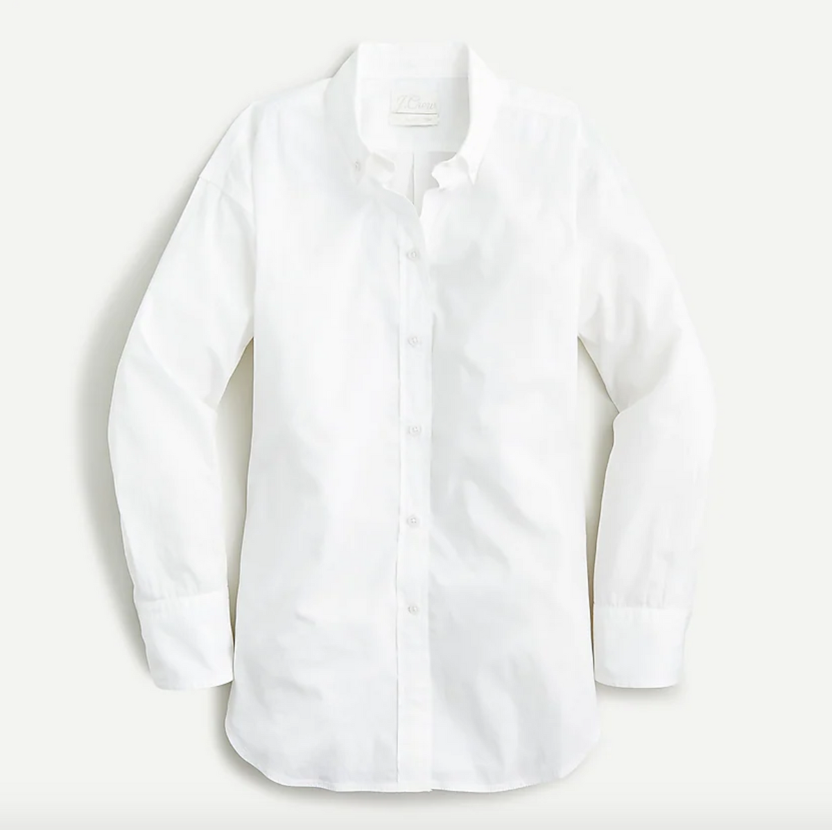 Garment-dyed Lightweight Cotton Poplin Shirt
