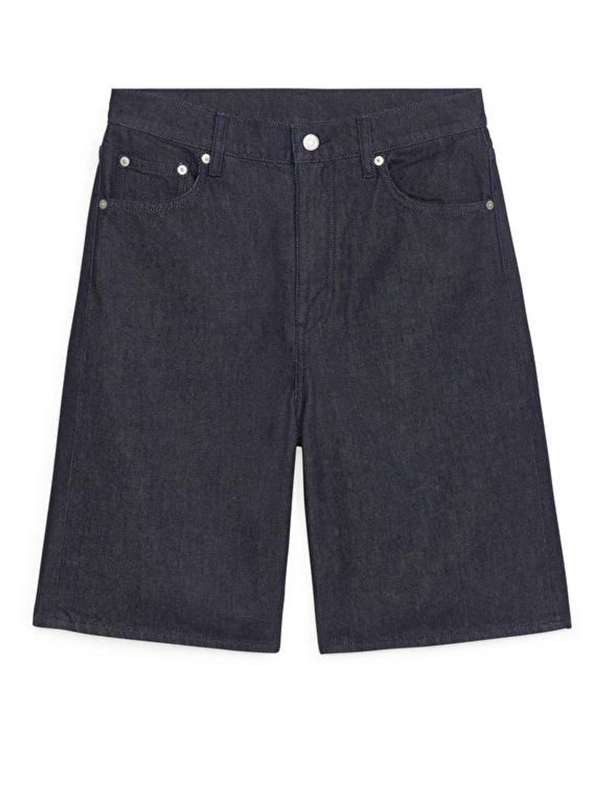Organic Cotton Denim Shorts