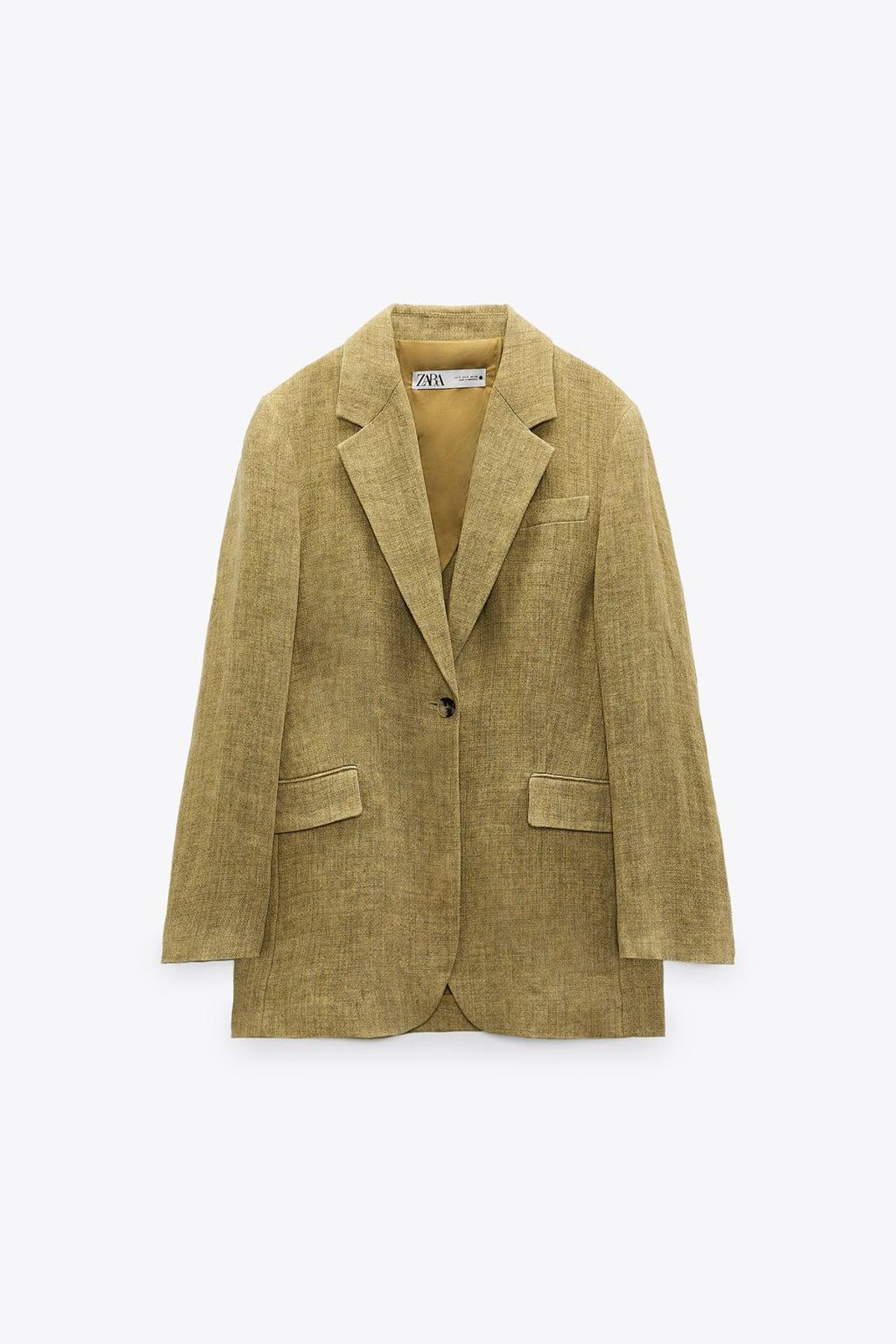 Oversized Linen Blazer Limited Edition