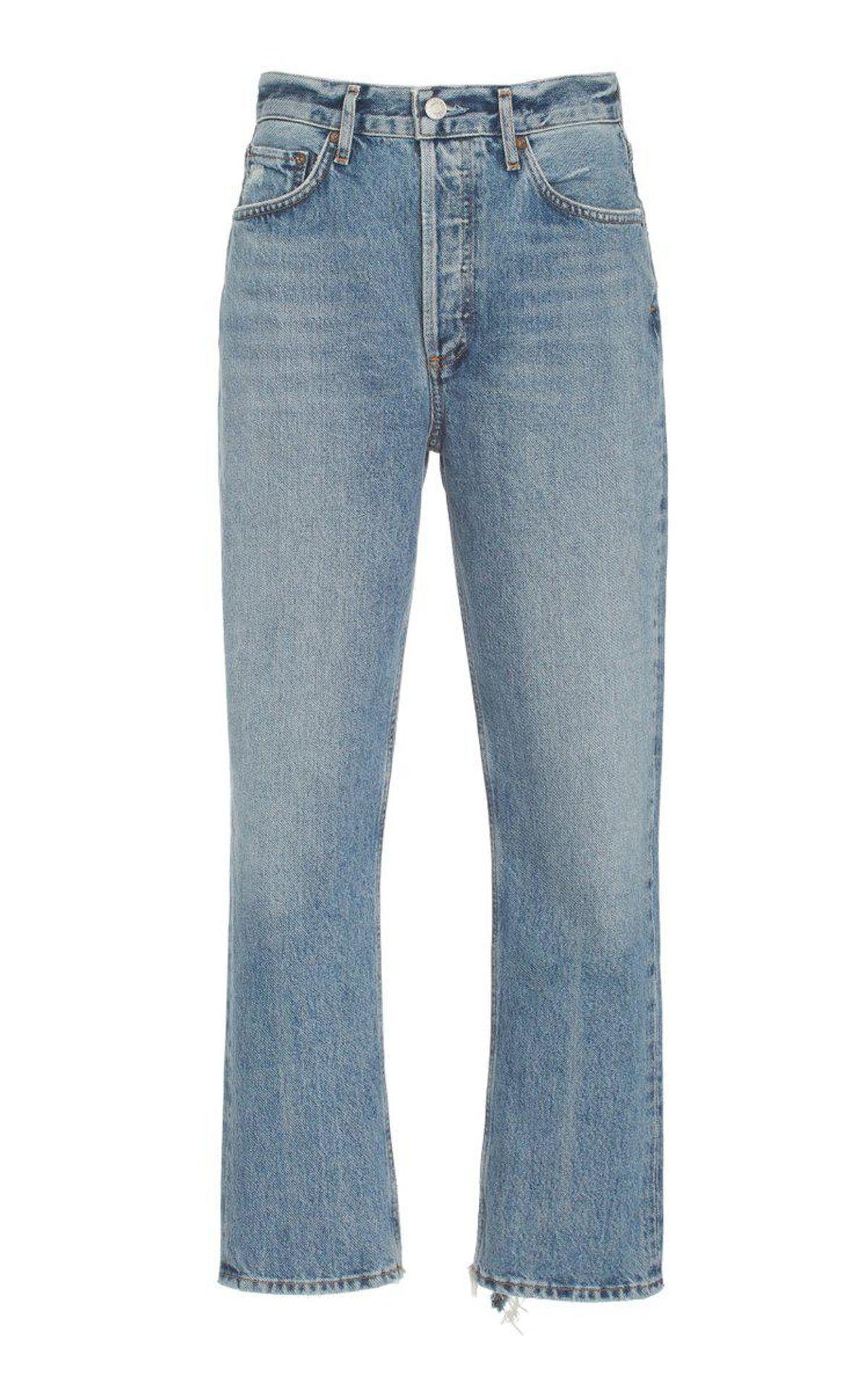 Riley Rigid High-rise Straight-leg Jeans