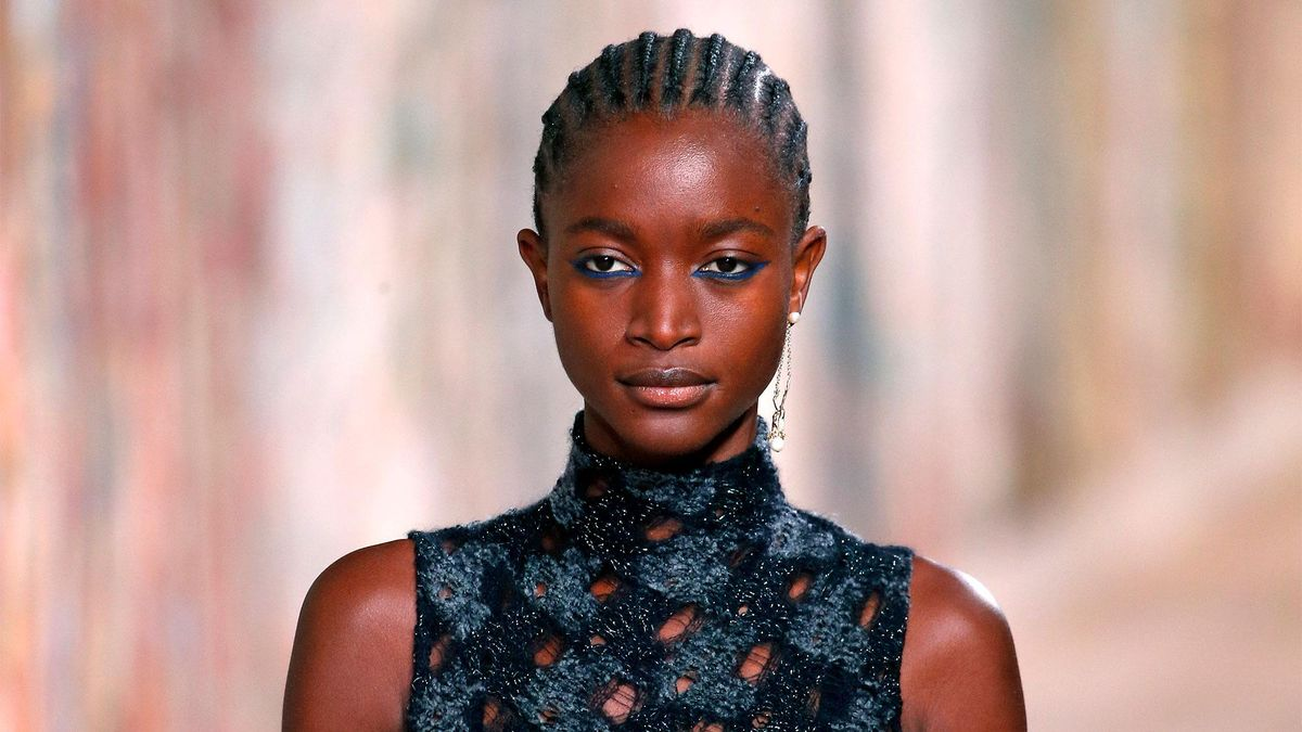 dior couture runway  makeup beauty