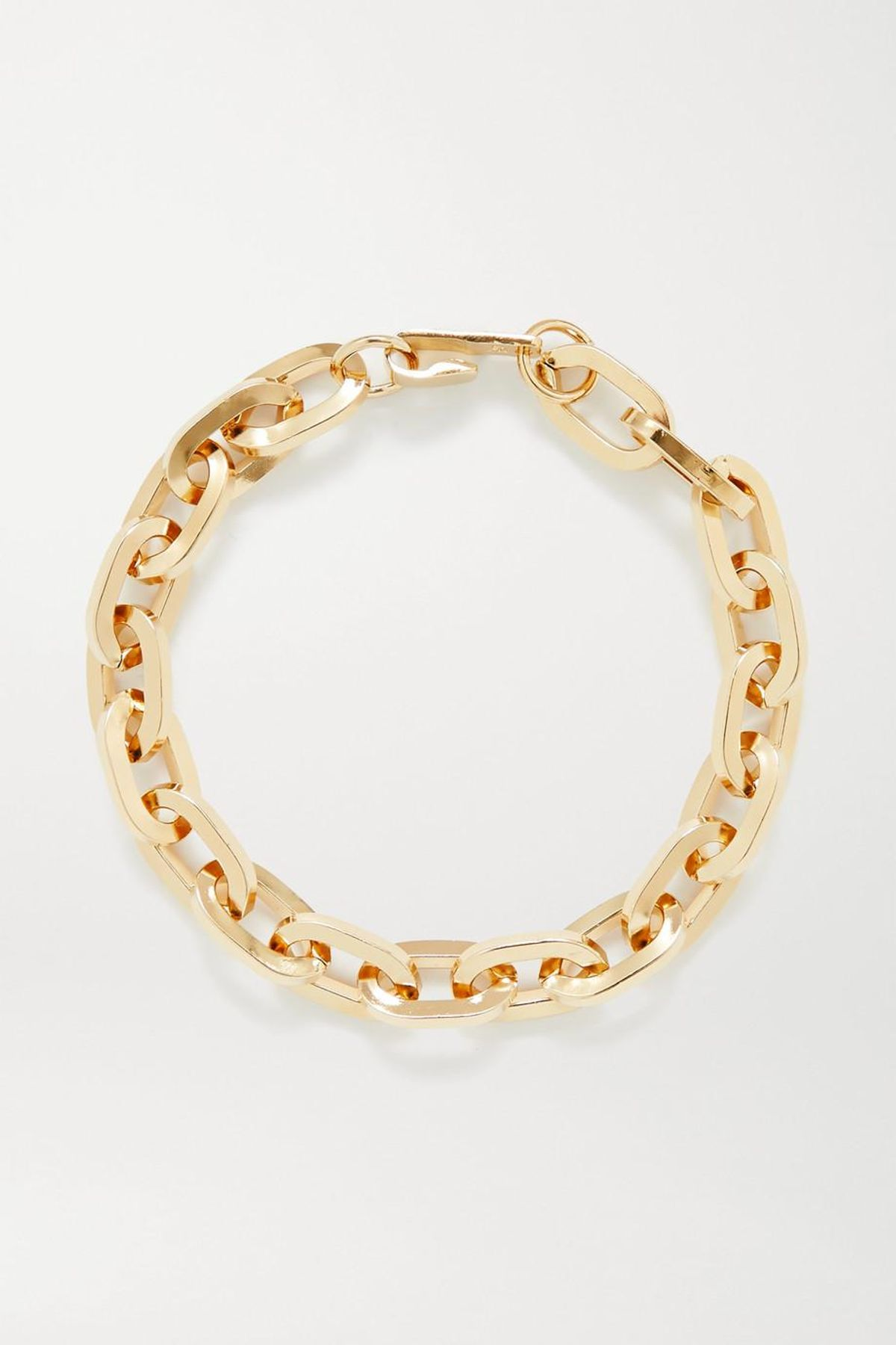jennifer fisher small essential gold plated anklet