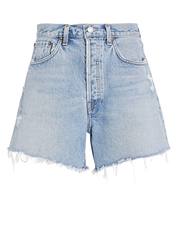 Parker Long Denim Shorts