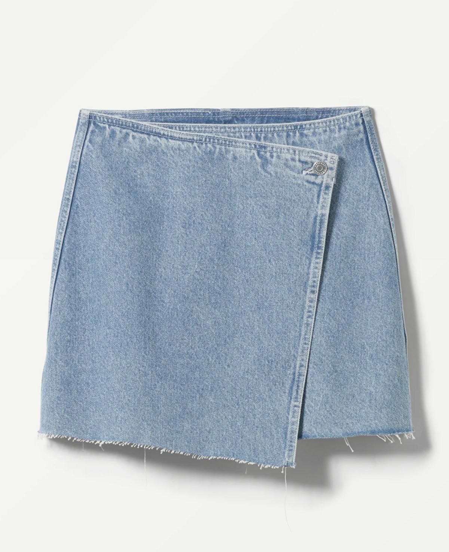 Simple Denim Skirt