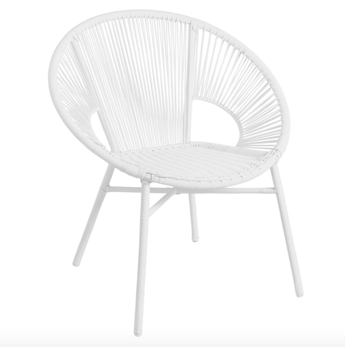 Round All Weather Wicker Camden Outdoor Chair