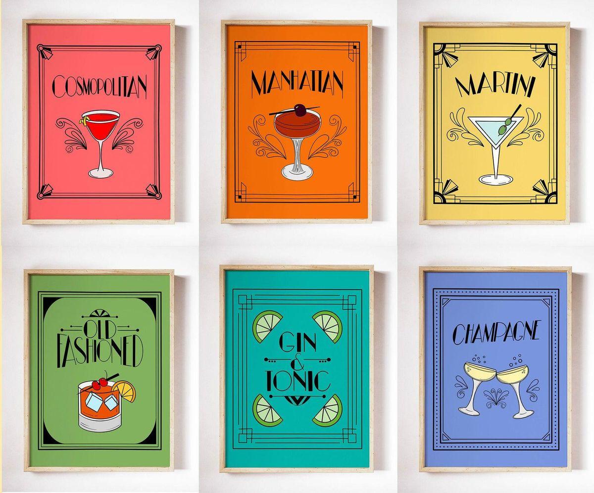Art Deco Cocktail Collection