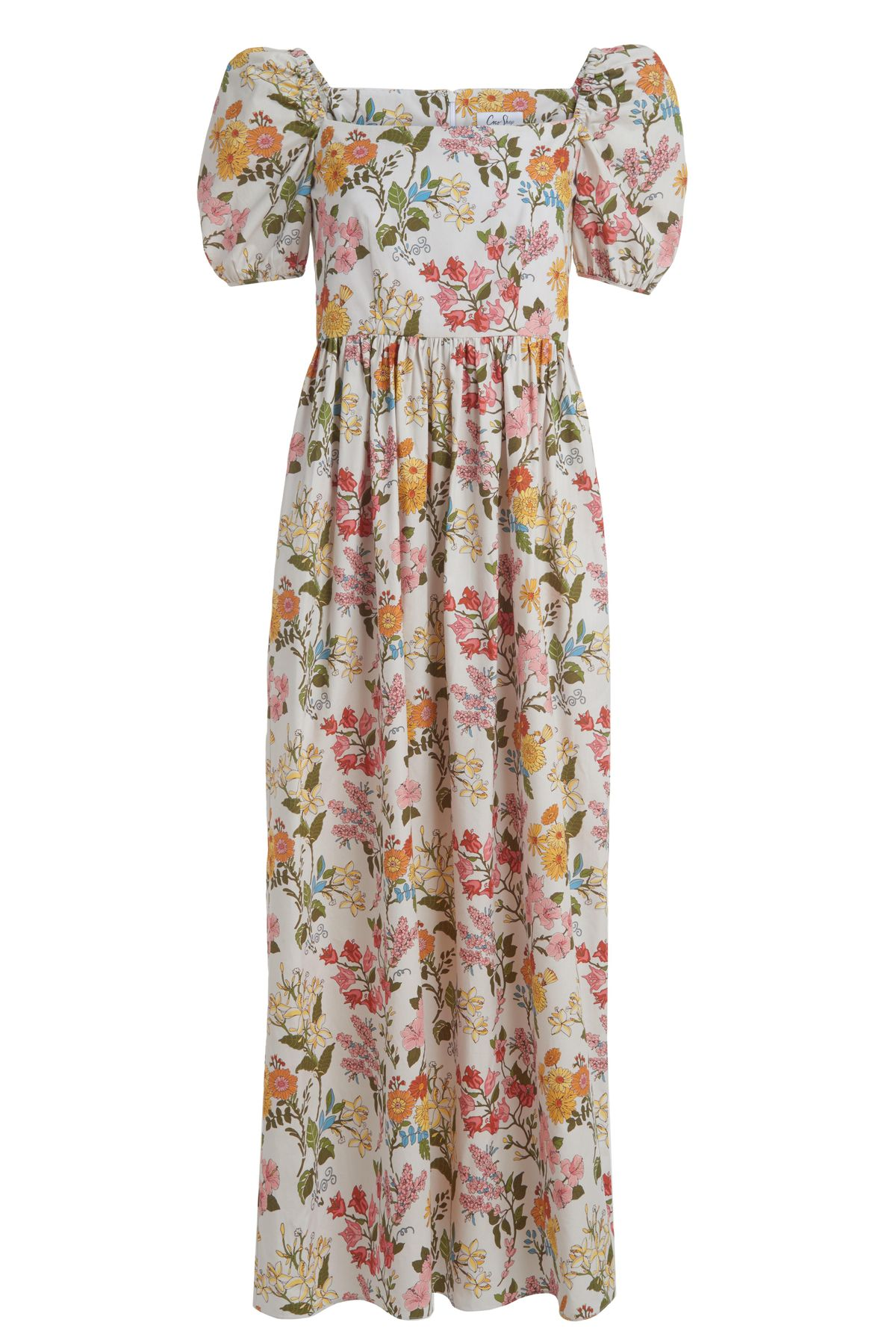 Short-sleeve Maxi Dress