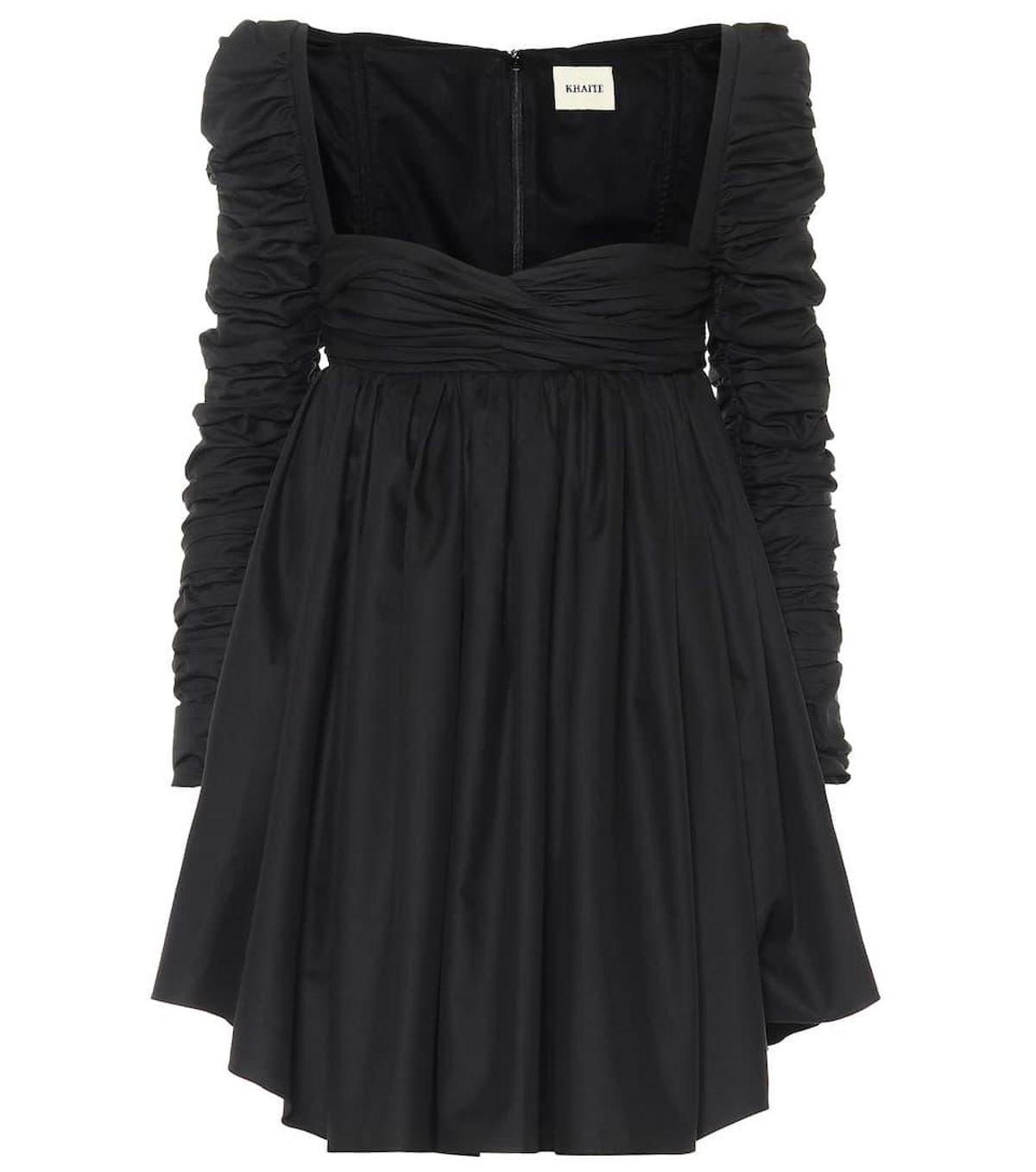 Sueanne Cotton Twill Mini Dress