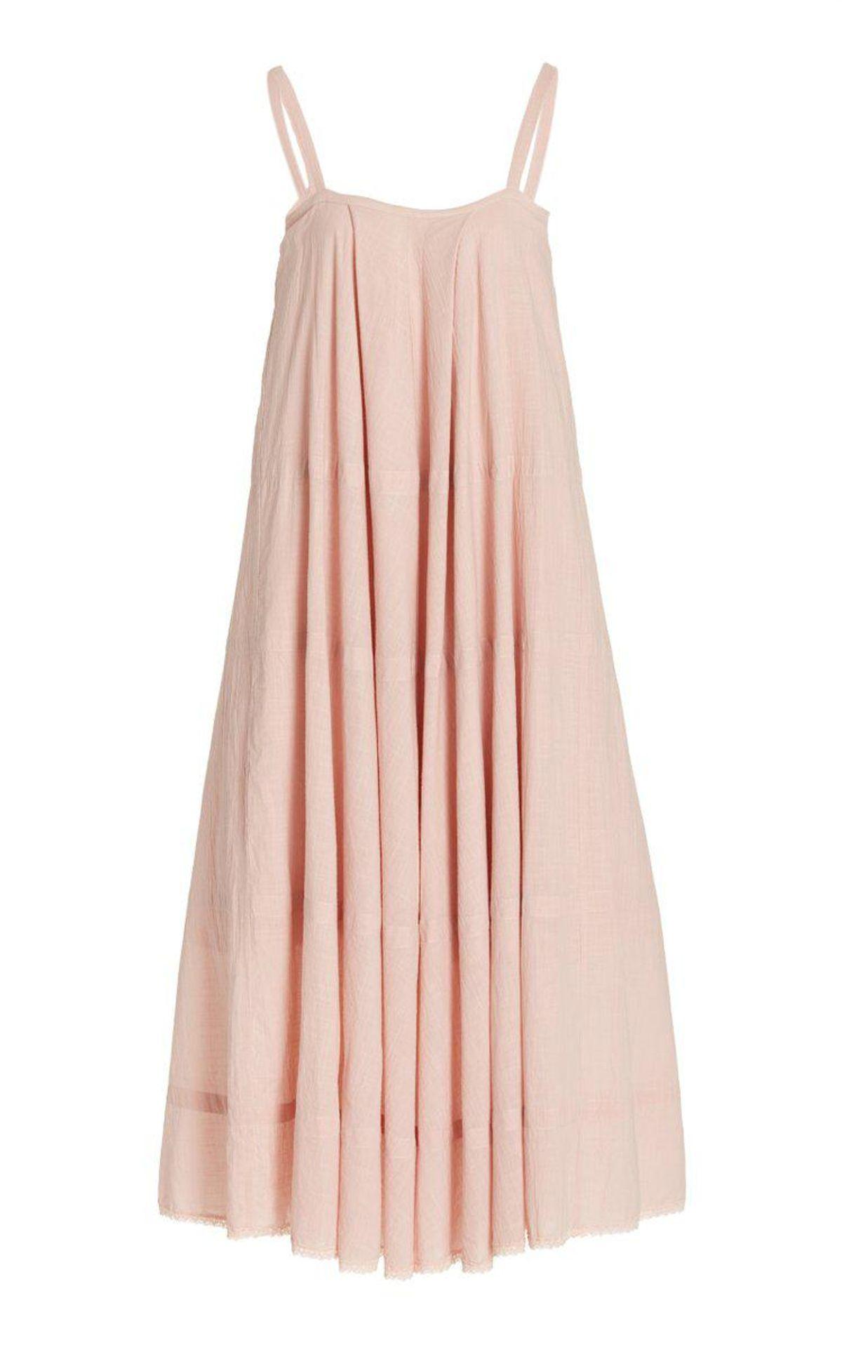 Odette Cotton Maxi Dress