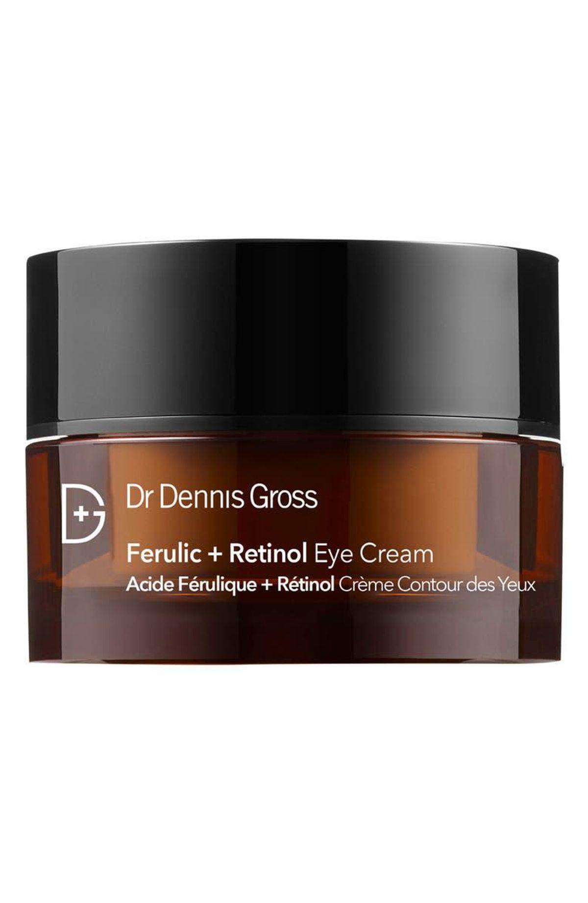 dr dennis gross skincare ferulic and retinol eye cream