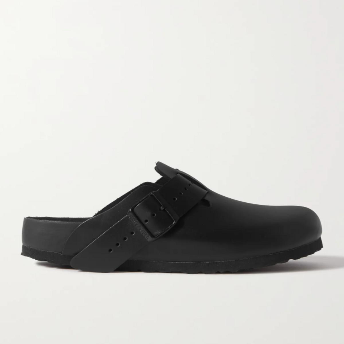 Summer + Birkenstock Boston Leather Sandals