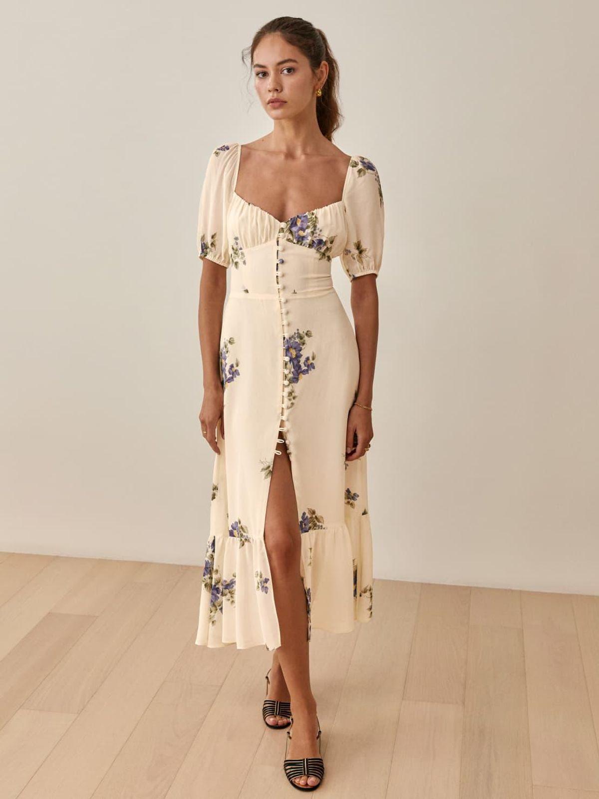 reformation charlee dress