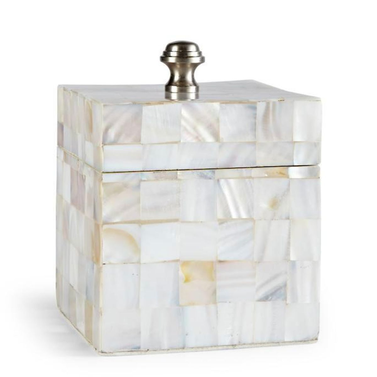 frontgate mother of pearl canister