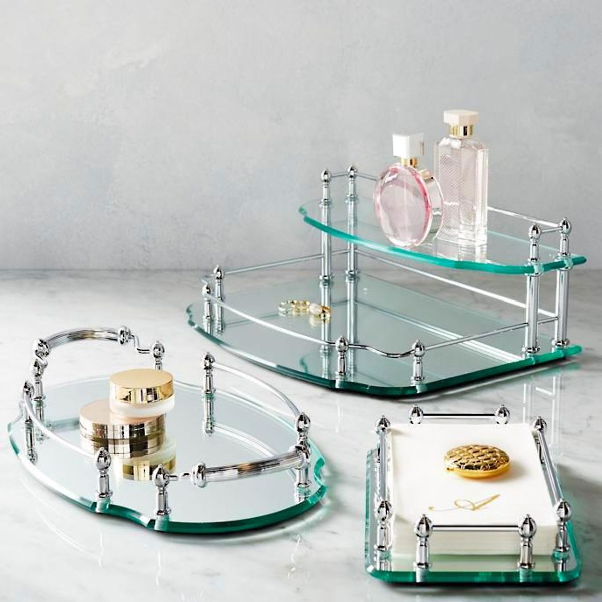 frontgate belmont personalized vanity trays