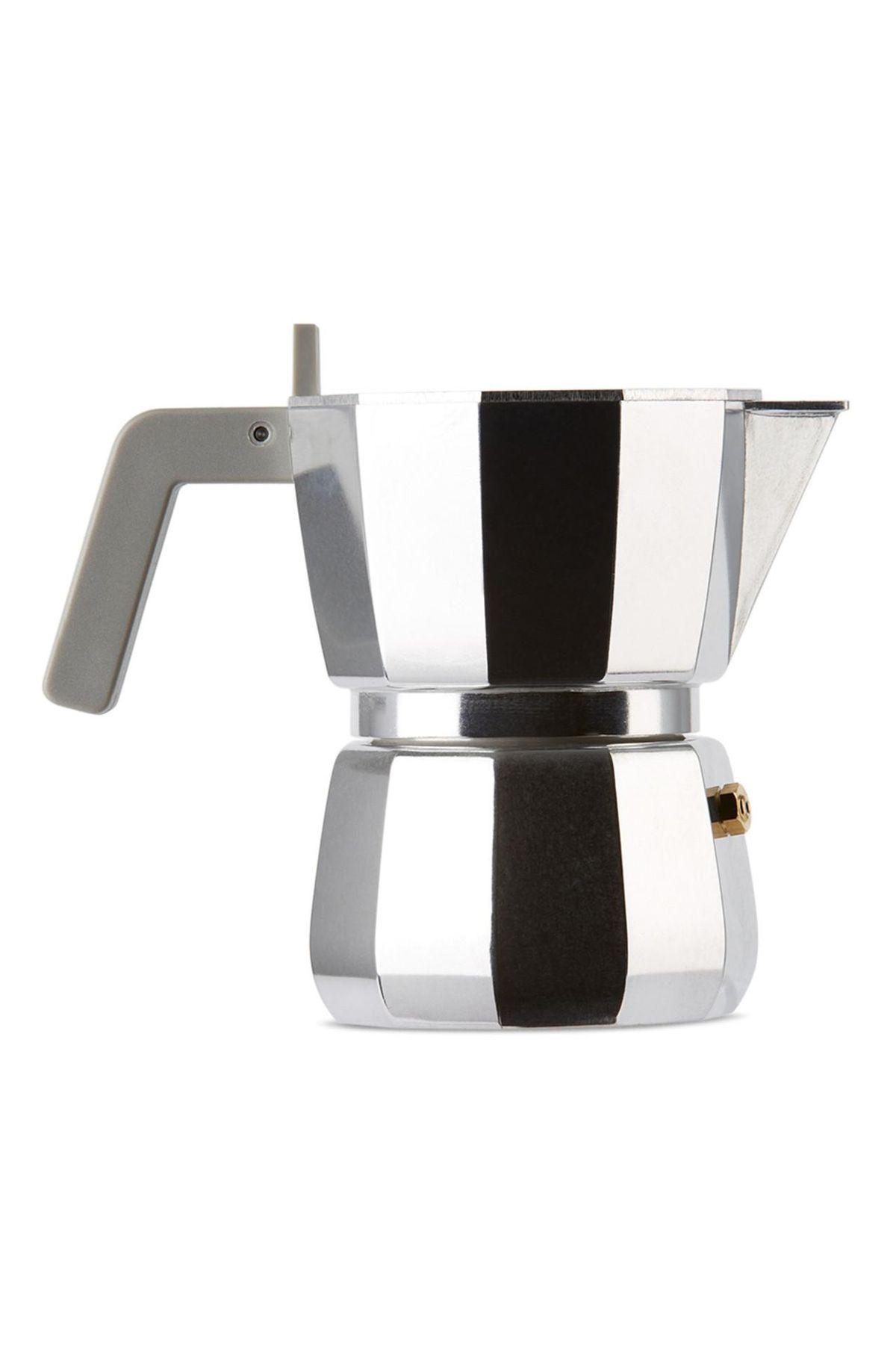david chipperfield silver alessi edition moka coffee pot
