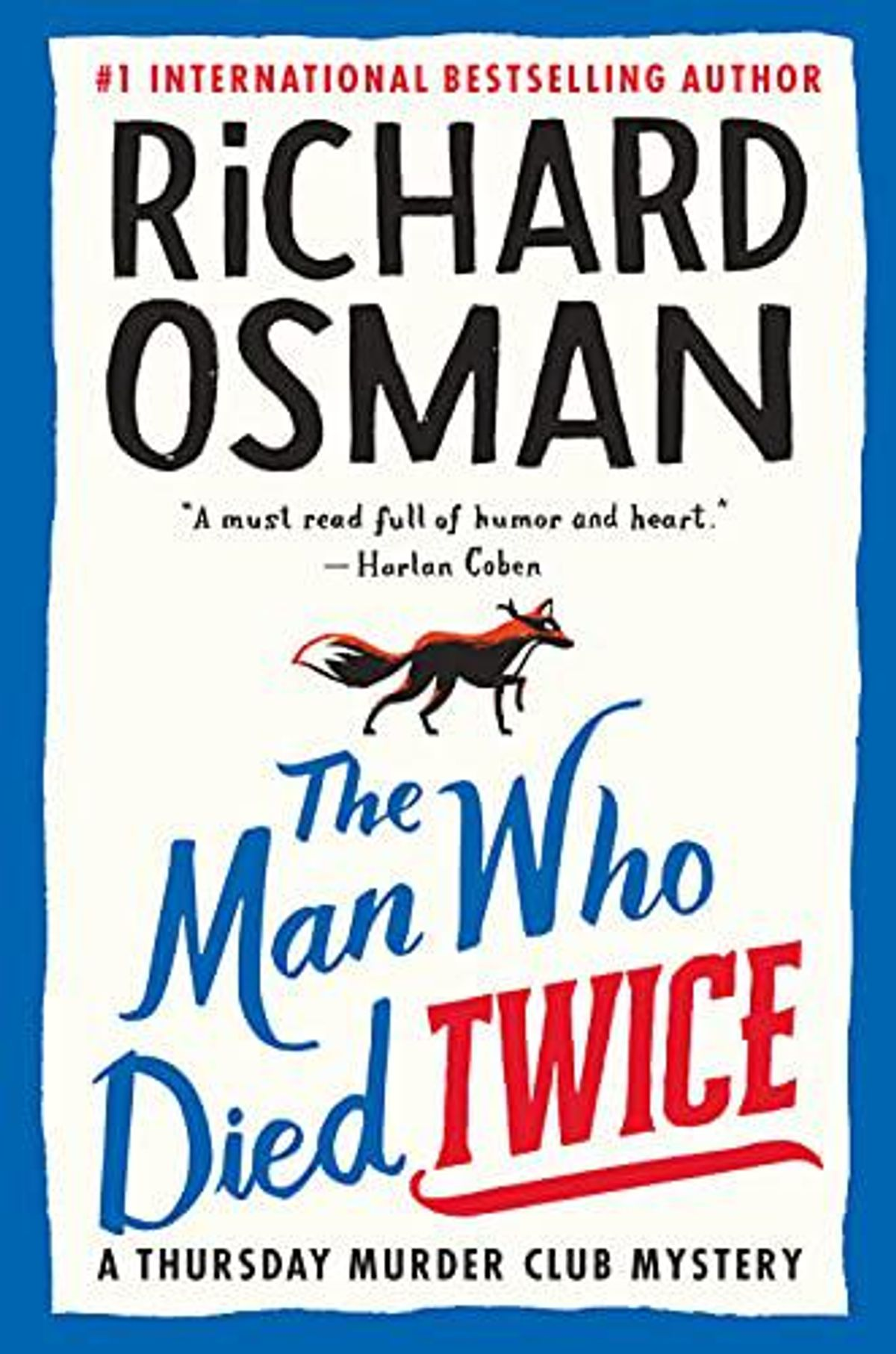 richard osman the man who died twice a thursday murder club mystery