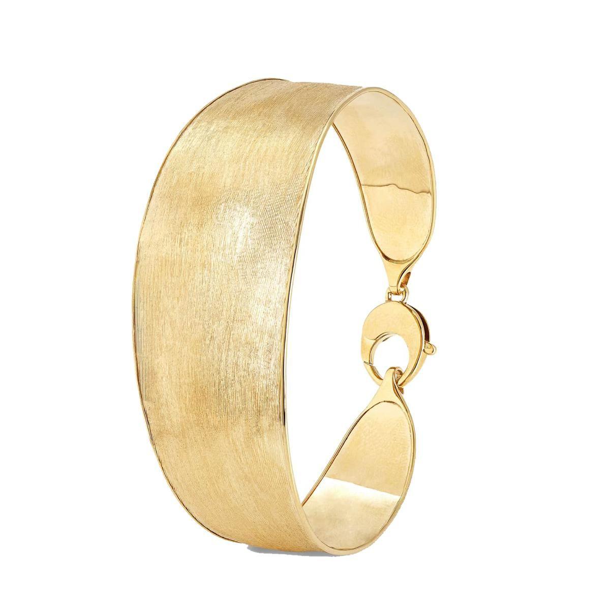 marco bicego 18k lunaria yellow gold bangle bracelet