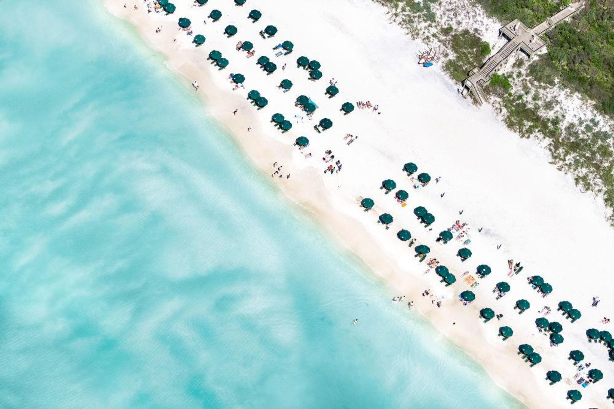 Rosemary Beach Umbrellas 30A Florida
