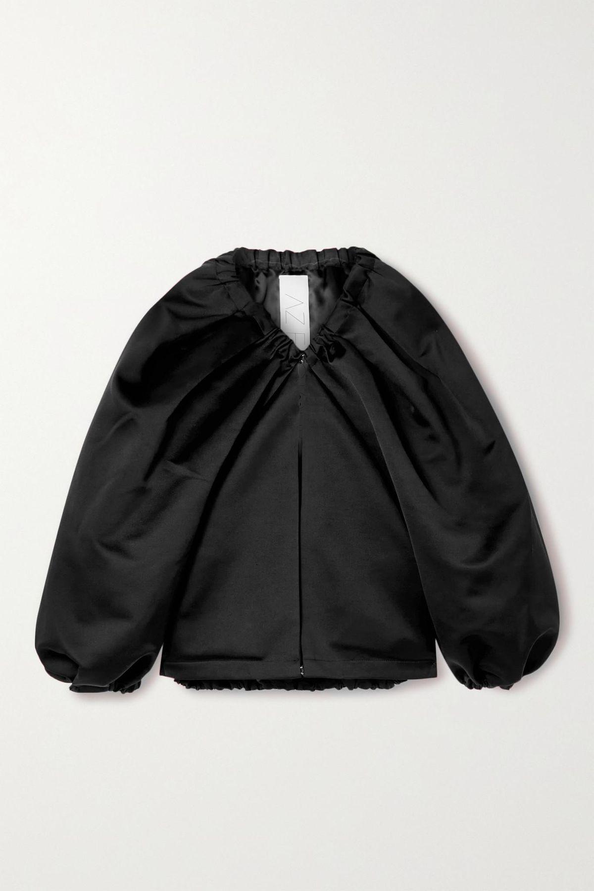 Switchwear Oversized Recycled Duchesse-satin Jacket