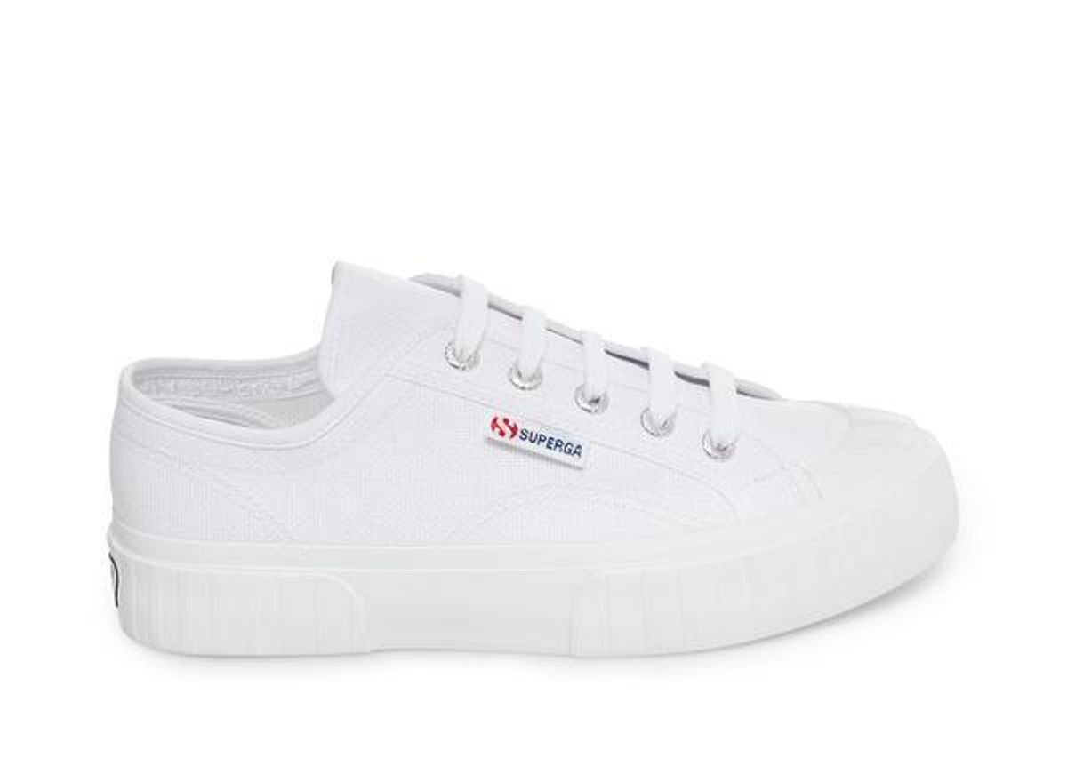 superga 2630 stripe white
