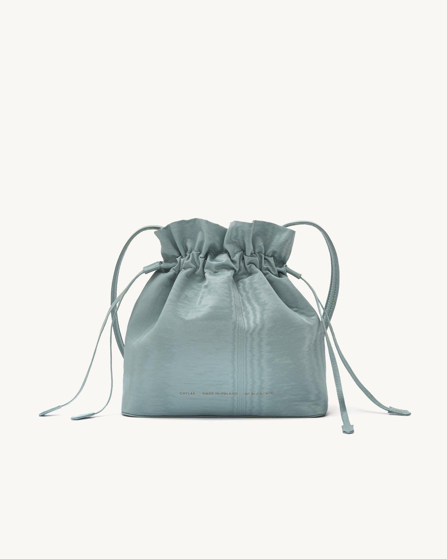 chylak soft drawstring bucket bag