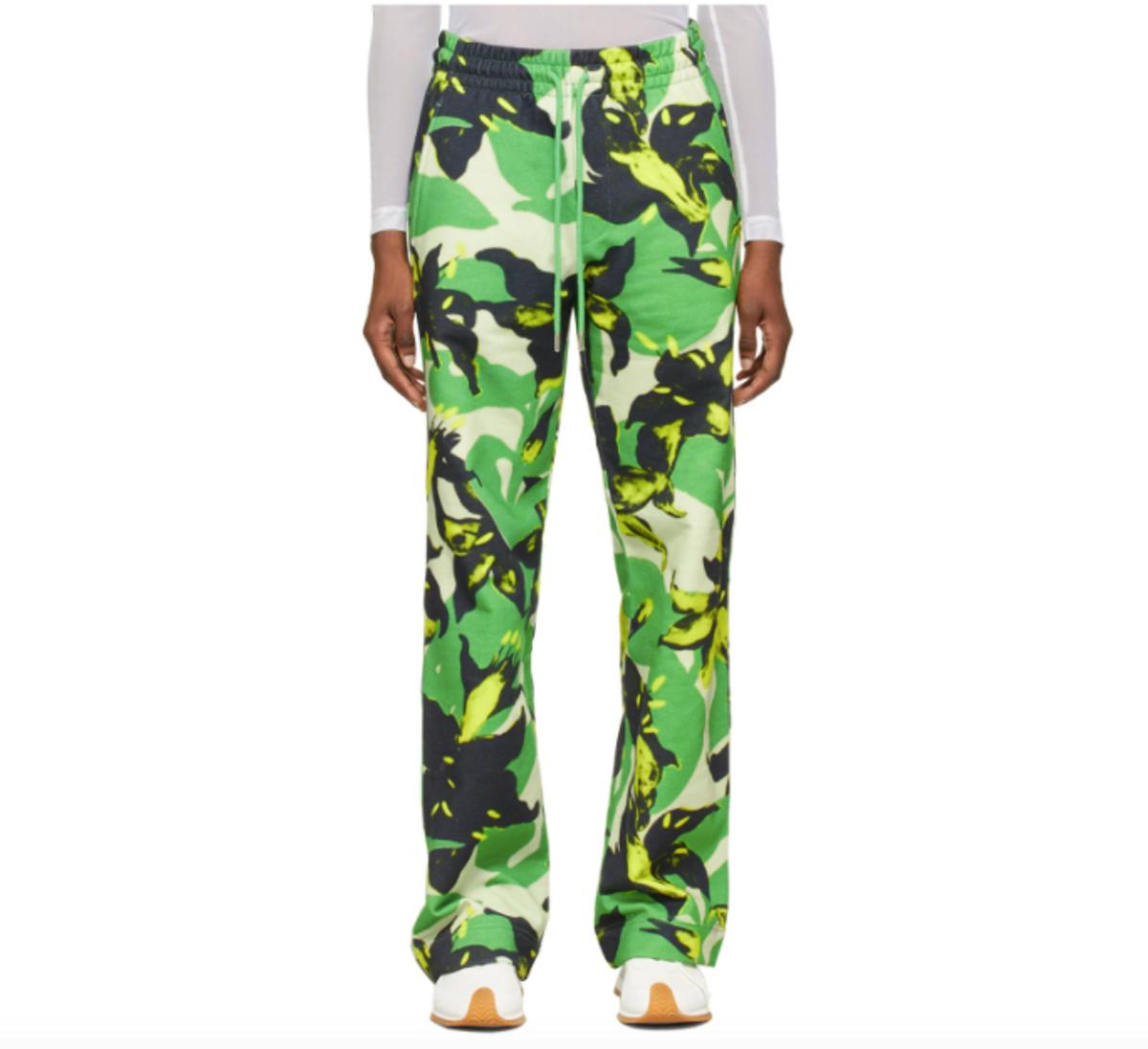 Len Lye Edition Floral Print Lounge Pants