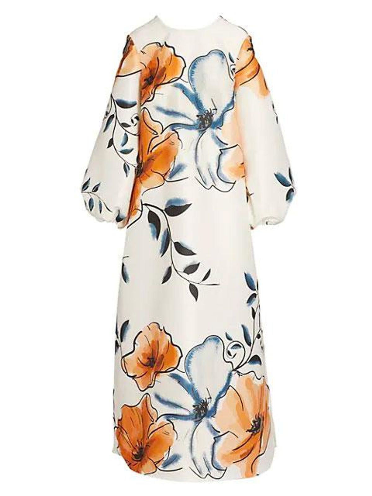 kimberly goldson gabi floral print dress