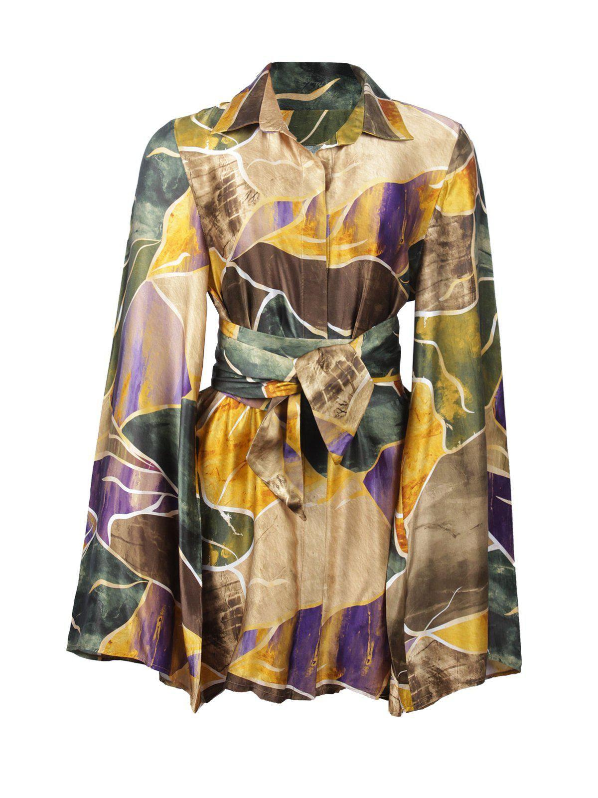 kílentar asa wrap dress