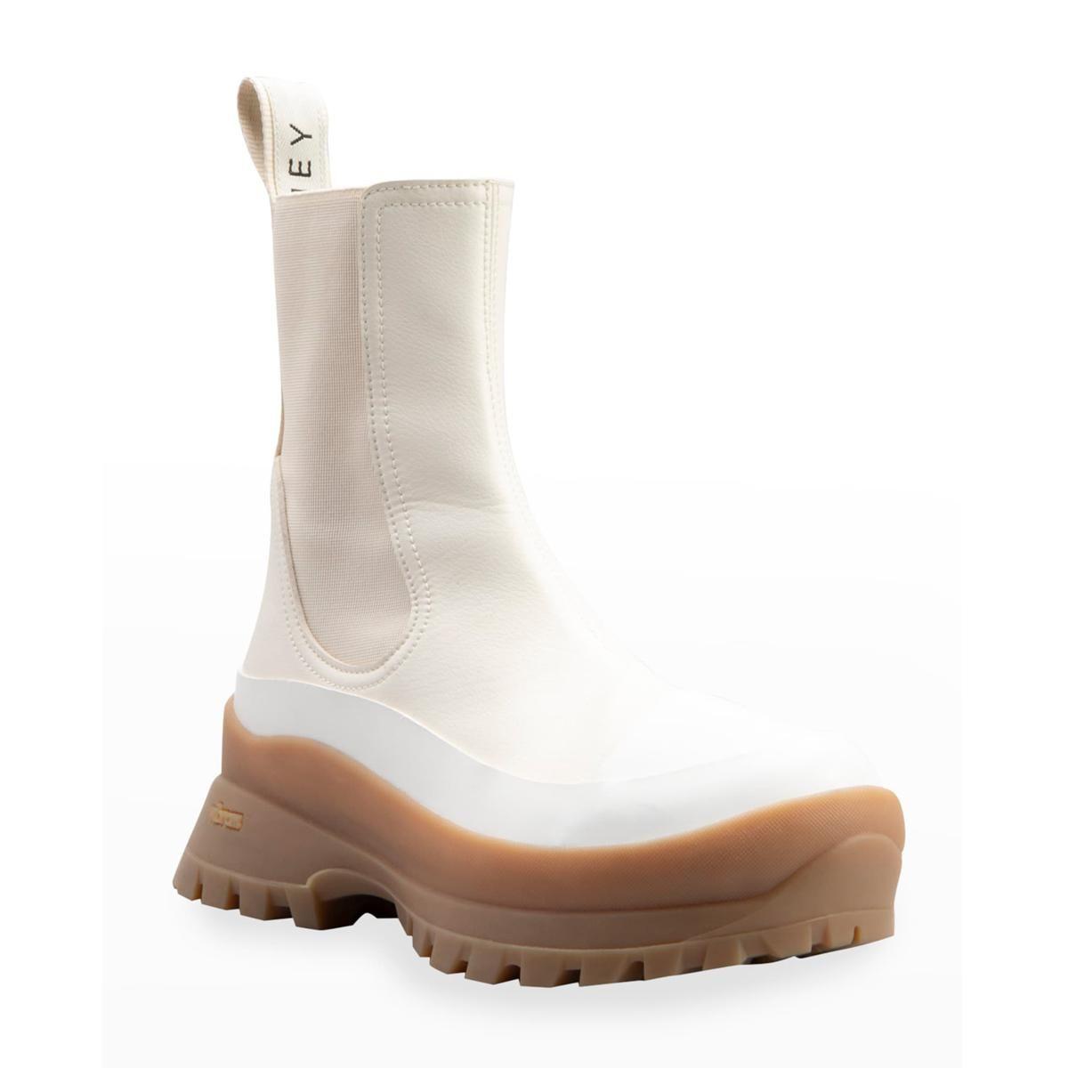 stella mccartney trace chelsea rain boots