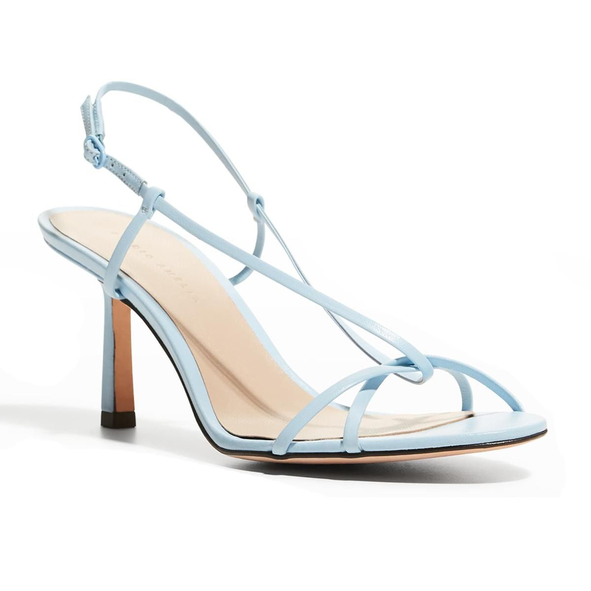 studio amelia entwined 70mm heeled sandals