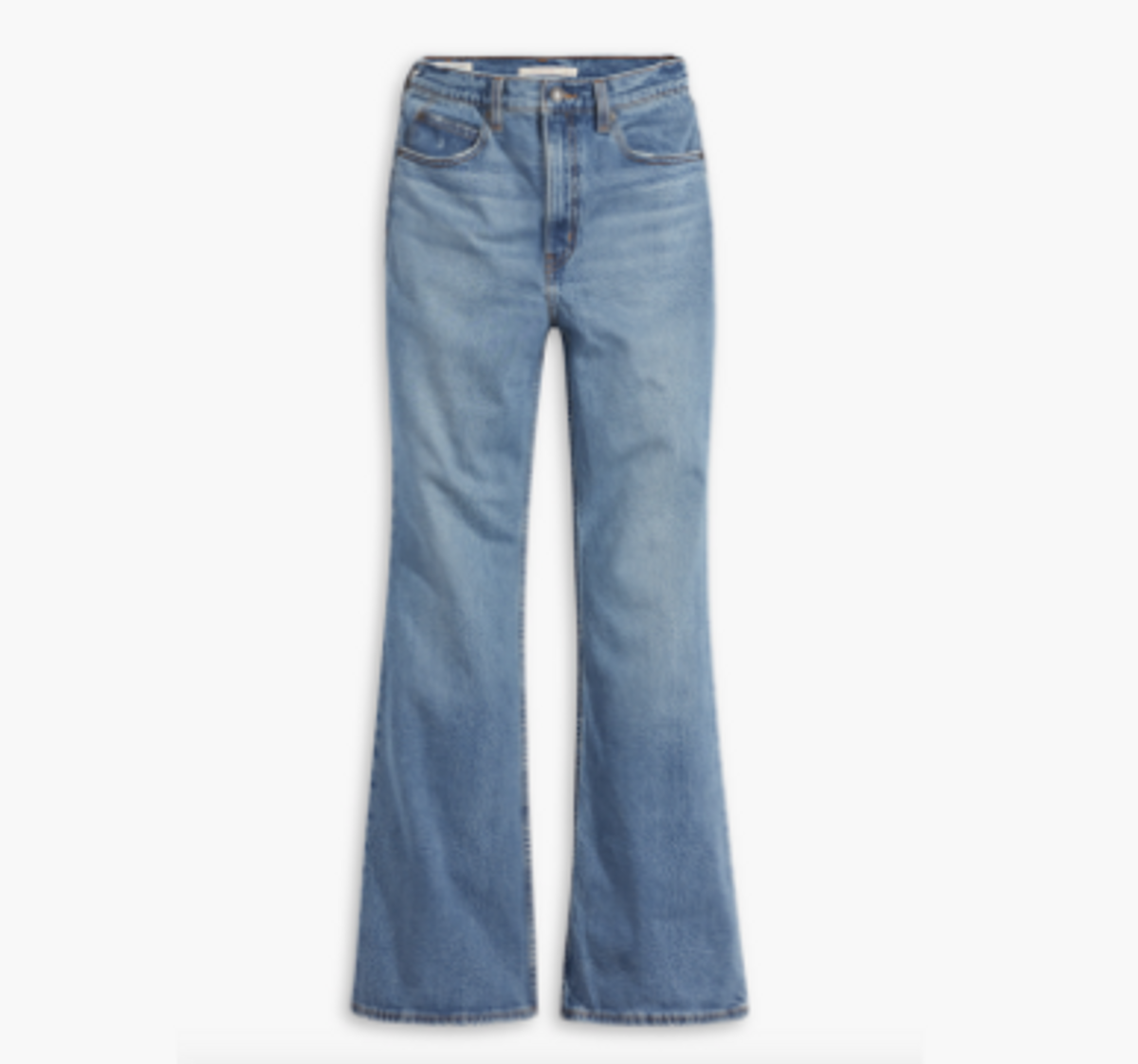 70's High Rise Women's Flare Jeans
