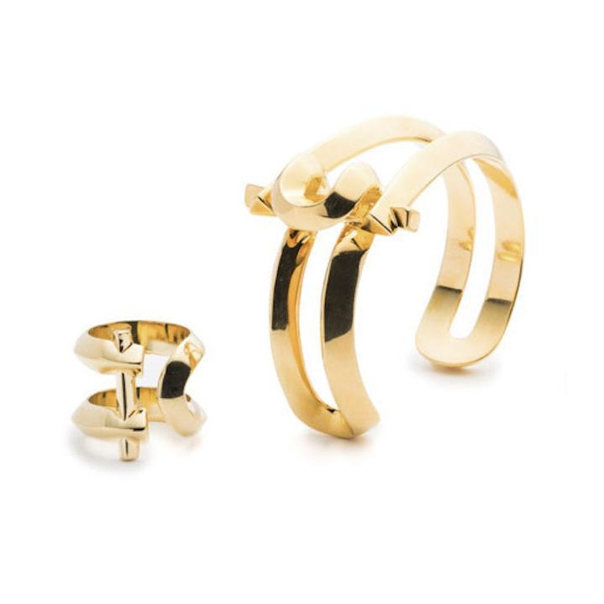 third crown marcy small cuff and ring