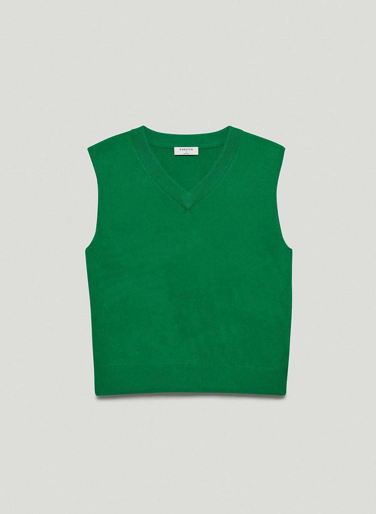 babaton tribune cashmere vest