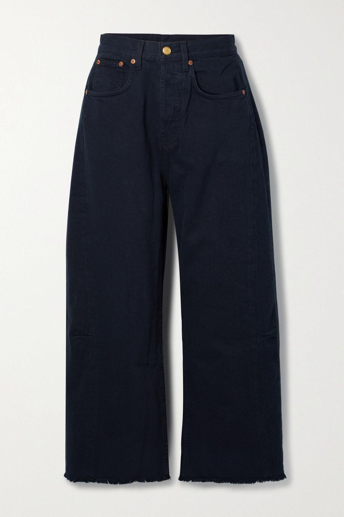 b sides lasso high rise wide leg jeans