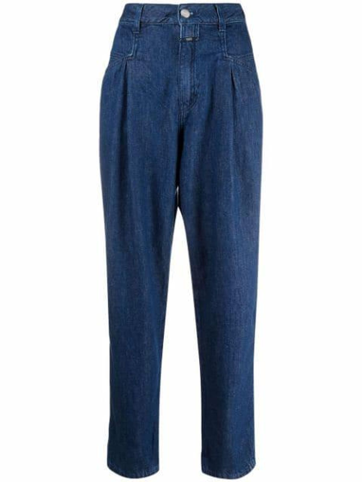 High Rise Tapered-leg Jeans