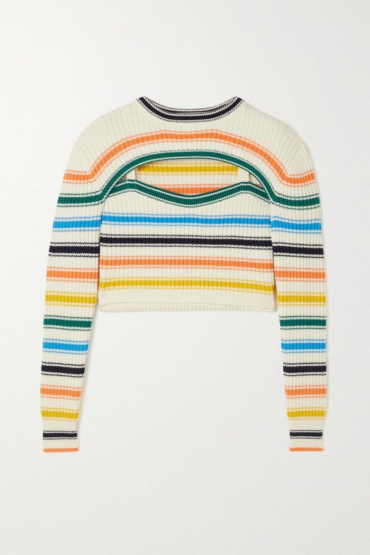Thousand-in-One-Ways Rainbow Sweater