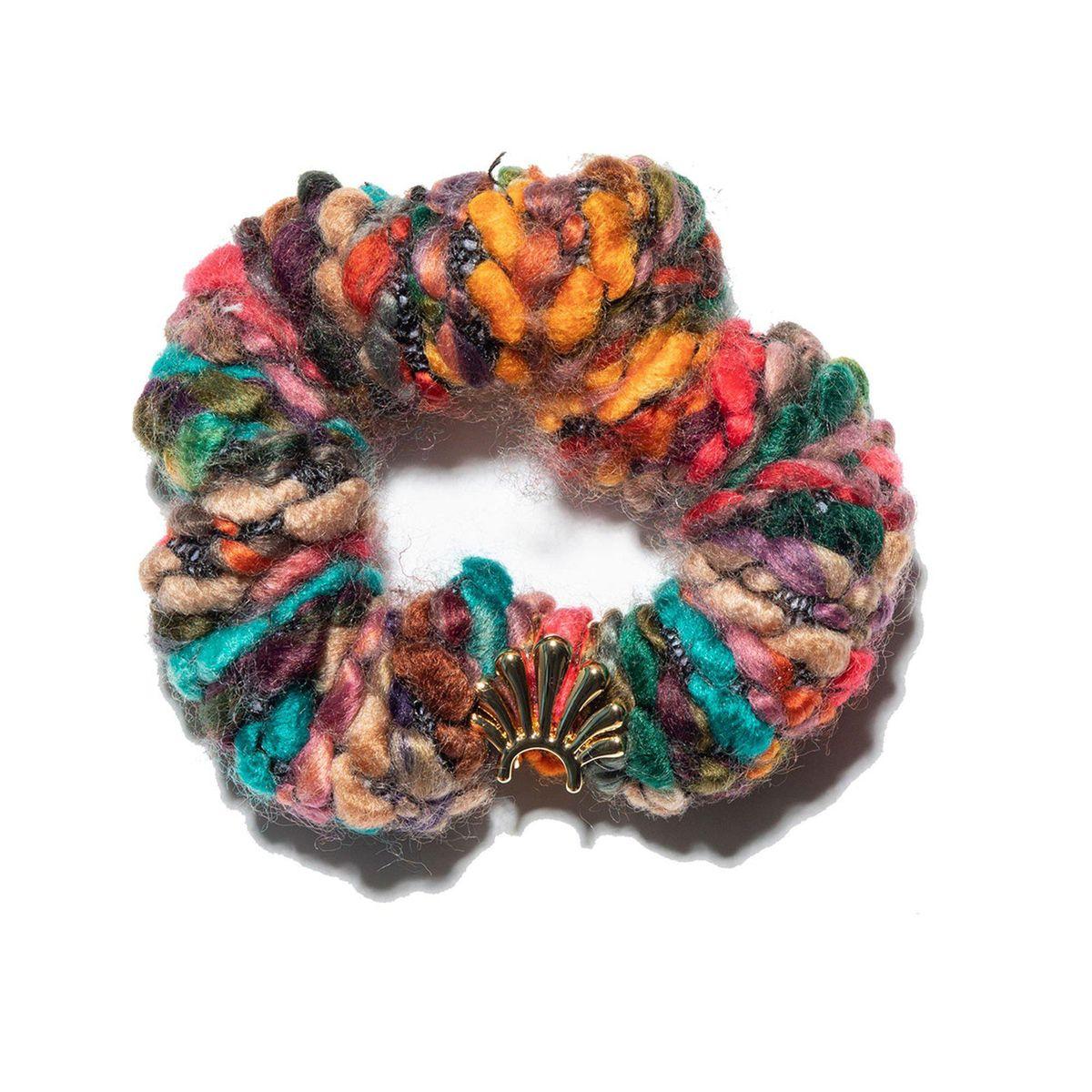 Desert Rainbow Sweater Scrunchie