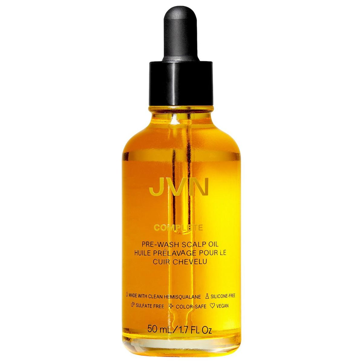 jvn complete pre wash hair oil